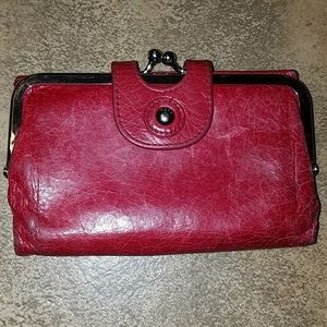 HOBO Bags - HOBO red leather wallet